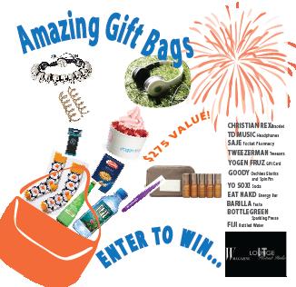IT Lounge TIFF Celebrity Gift Bag Giveaway!