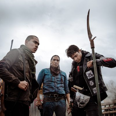 Michael Greyeyes Leads the Charge in Jeff Barnaby's Zombie Apocalypse Thriller Blood Quantum.