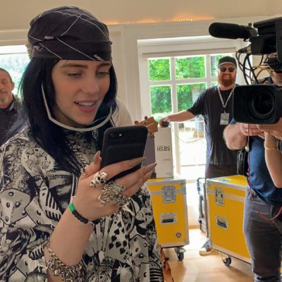 Get Close to the Nineteen Year Old Music Phenom in Billie Eilish: the World's a Little Blurry. Documentarian R.J. Cutler Captures Her Life and Art.