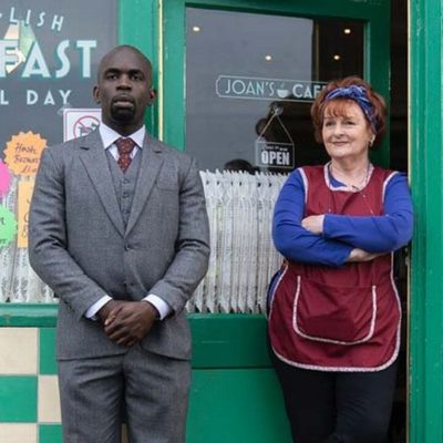 Jimmy Akingbola and Brenda Blethyn Face Off with a Wink and a Nod in Kate & Koji!