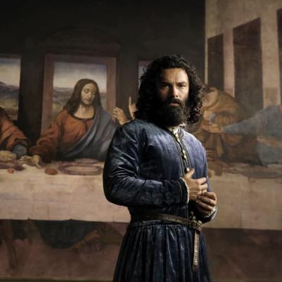 Aidan Turner Plays Leonardo da Vinci, One of History's Most Accomplished Human Beings.
