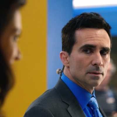 The Morning Show's Nestor Carbonell on the Enigmatic Weatherman Who Sees All in Apple TV+' Hit Series.